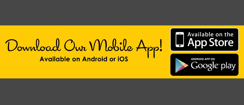 Download our mobile app available on Android and iOS