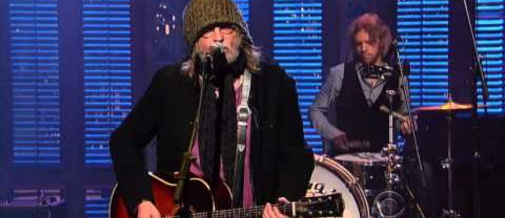 RAY WYLIE HUBBARD Does Letterman