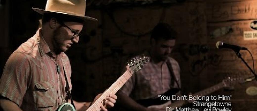 """You Don't Belong To Him"" // Strangetowne Live @ The Goldenlight"
